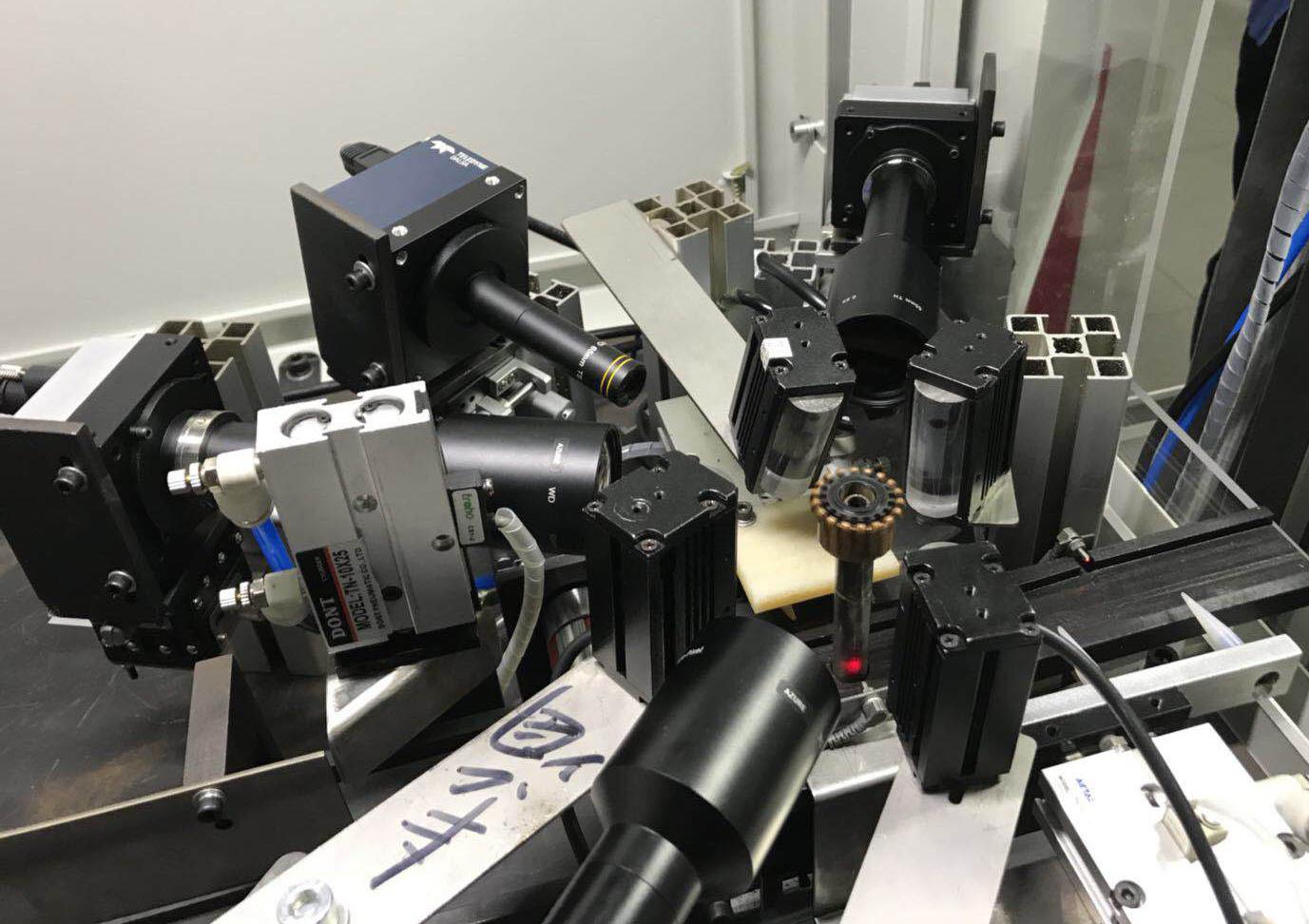 電機換向器自動化視覺檢測系統-內景視覺圖